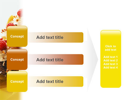 Banana Split PowerPoint Template Slide 12