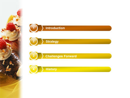 Banana Split PowerPoint Template, Slide 3, 02192, Food & Beverage — PoweredTemplate.com