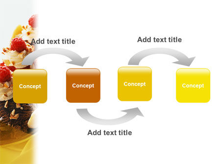Banana Split PowerPoint Template, Slide 4, 02192, Food & Beverage — PoweredTemplate.com