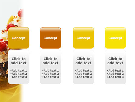Banana Split PowerPoint Template Slide 5