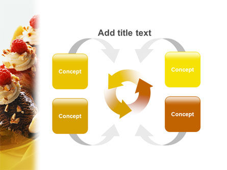Banana Split PowerPoint Template Slide 6