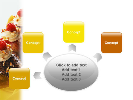 Banana Split PowerPoint Template Slide 7
