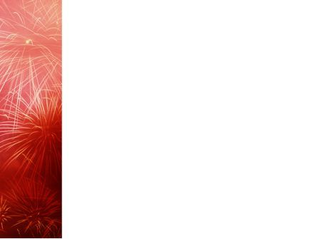 Fireworks PowerPoint Template, Slide 3, 02193, Holiday/Special Occasion — PoweredTemplate.com