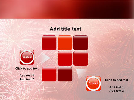 Fireworks PowerPoint Template Slide 16