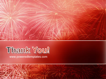 Fireworks PowerPoint Template Slide 20