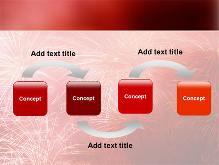 Fireworks PowerPoint Template, Slide 4, 02193, Holiday/Special Occasion — PoweredTemplate.com