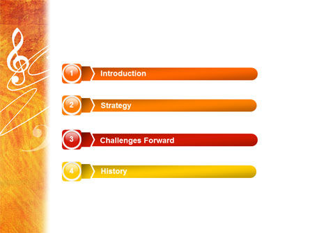 Musician PowerPoint Template, Slide 3, 02194, Art & Entertainment — PoweredTemplate.com