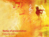 Art & Entertainment: Musician PowerPoint Template #02194