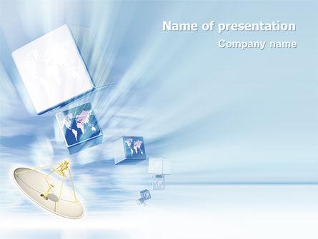 Telecommunication: 广播PowerPoint模板 #02196
