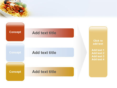 Spaghetti PowerPoint Template Slide 12