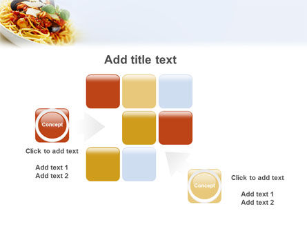 Spaghetti PowerPoint Template Slide 16