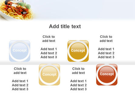 Spaghetti PowerPoint Template Slide 19