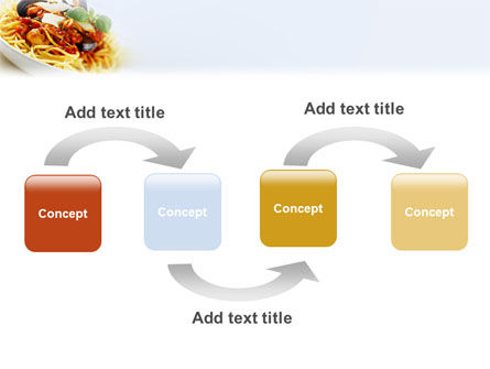 Spaghetti PowerPoint Template, Slide 4, 02199, Food & Beverage — PoweredTemplate.com