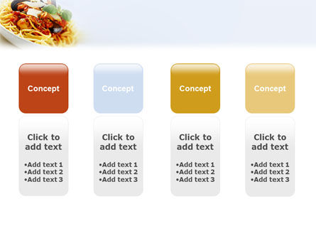 Spaghetti PowerPoint Template Slide 5