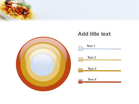 Spaghetti PowerPoint Template Slide 9