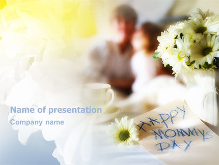 Mother's Day PowerPoint Template, 02201, Holiday/Special Occasion — PoweredTemplate.com