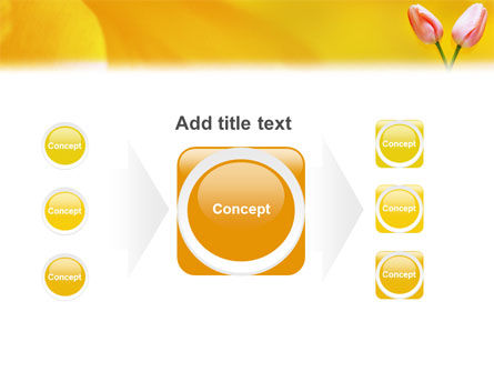 Tulip On A Yellow PowerPoint Template Slide 17