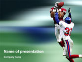 Sports: American Football Atlanta Falcons PowerPoint Template #02207