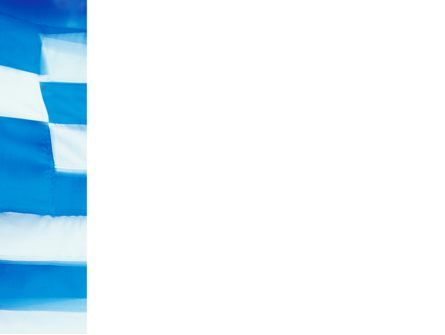 Flag of Greece PowerPoint Template, Slide 3, 02208, Flags/International — PoweredTemplate.com