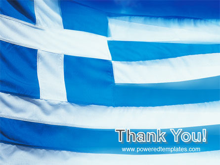 Flag of Greece PowerPoint Template Slide 20