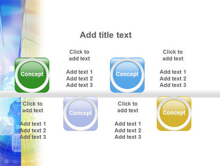 Clock Face PowerPoint Template Slide 19