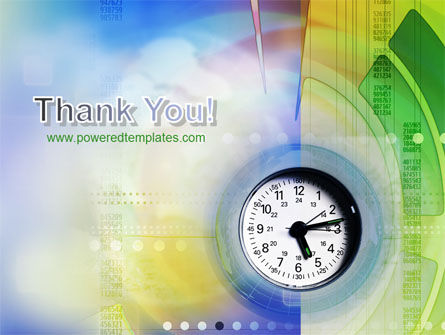 Clock Face PowerPoint Template Slide 20