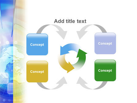 Clock Face PowerPoint Template Slide 6