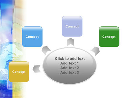 Clock Face PowerPoint Template Slide 7