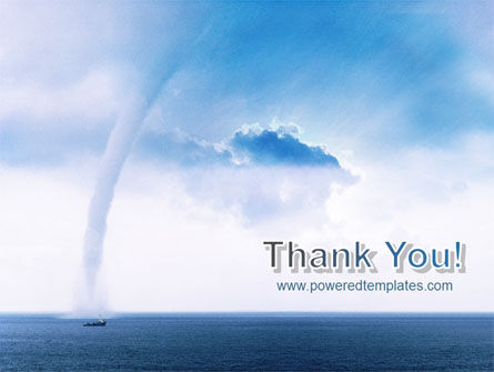 Waterspout PowerPoint Template Slide 20