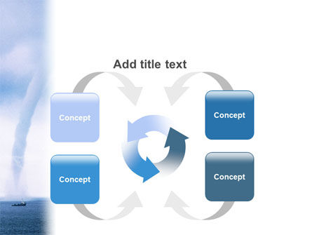Waterspout PowerPoint Template Slide 6
