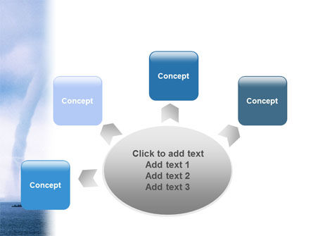 Waterspout PowerPoint Template Slide 7