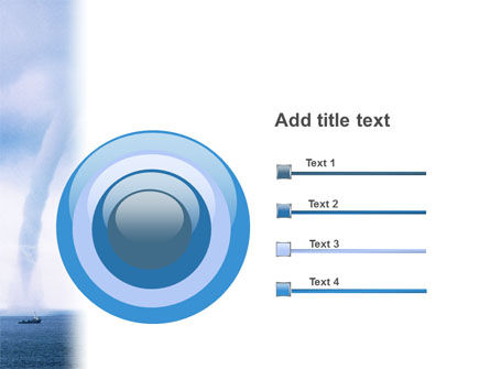 Waterspout PowerPoint Template Slide 9