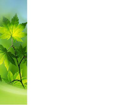 Flora PowerPoint Template, Slide 3, 02215, Nature & Environment — PoweredTemplate.com
