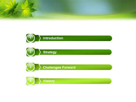 Flora PowerPoint Template, Slide 3, 02215, Nature & Environment — PoweredTemplate.com
