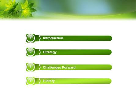 Flora PowerPoint Template Slide 3
