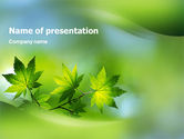 Nature & Environment: Flora PowerPoint Template #02215