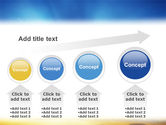 Blue Sky With Sunbeams PowerPoint Template#13