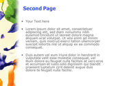 Paint PowerPoint Template#2