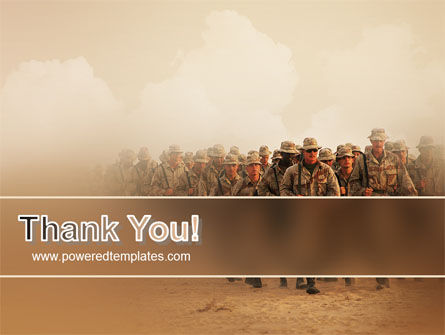 Infantry PowerPoint Template Slide 20