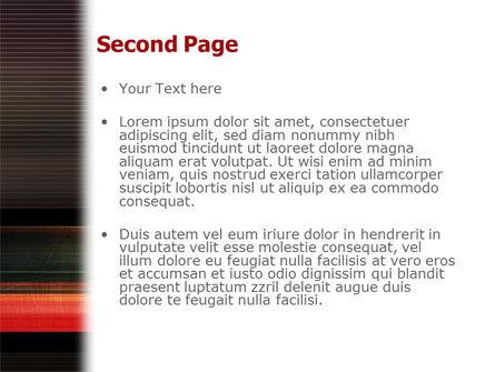 Running Technique PowerPoint Template, Slide 2, 02222, Sports — PoweredTemplate.com