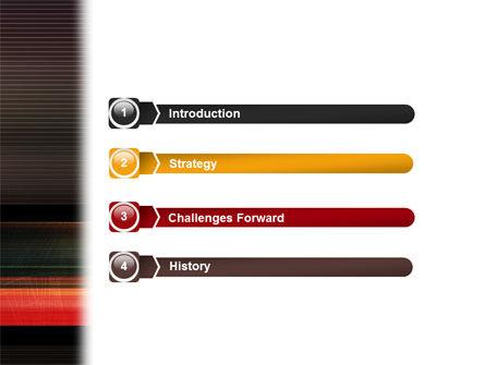 Running Technique PowerPoint Template, Slide 3, 02222, Sports — PoweredTemplate.com