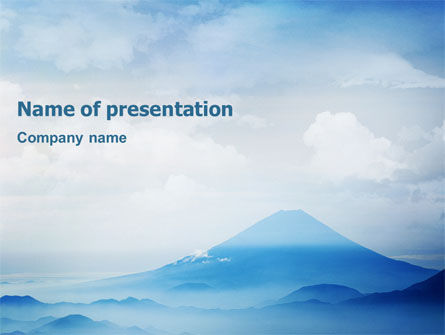 Nature & Environment: Fujiyama PowerPoint Template #02226