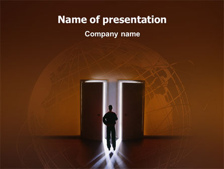 Business Concepts: Choice PowerPoint Template #02227