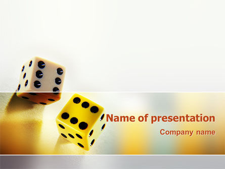 Probability PowerPoint Template, 02228, Business Concepts — PoweredTemplate.com