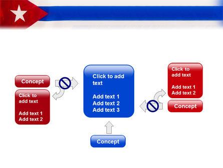 Flag of Cuba PowerPoint Template Slide 13