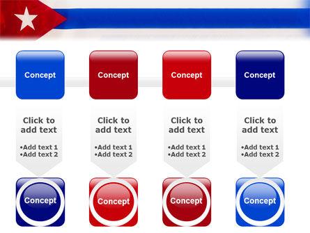 Flag of Cuba PowerPoint Template Slide 18