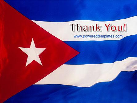 Flag of Cuba PowerPoint Template Slide 20