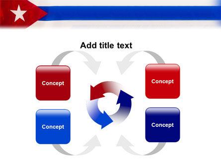 Flag of Cuba PowerPoint Template Slide 6