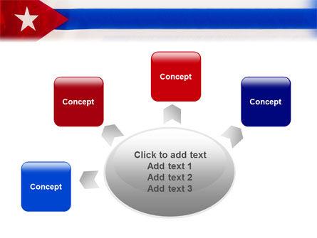 Flag of Cuba PowerPoint Template Slide 7