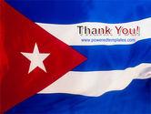 Flag of Cuba PowerPoint Template#20